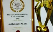 A new award for ALD Automotive India