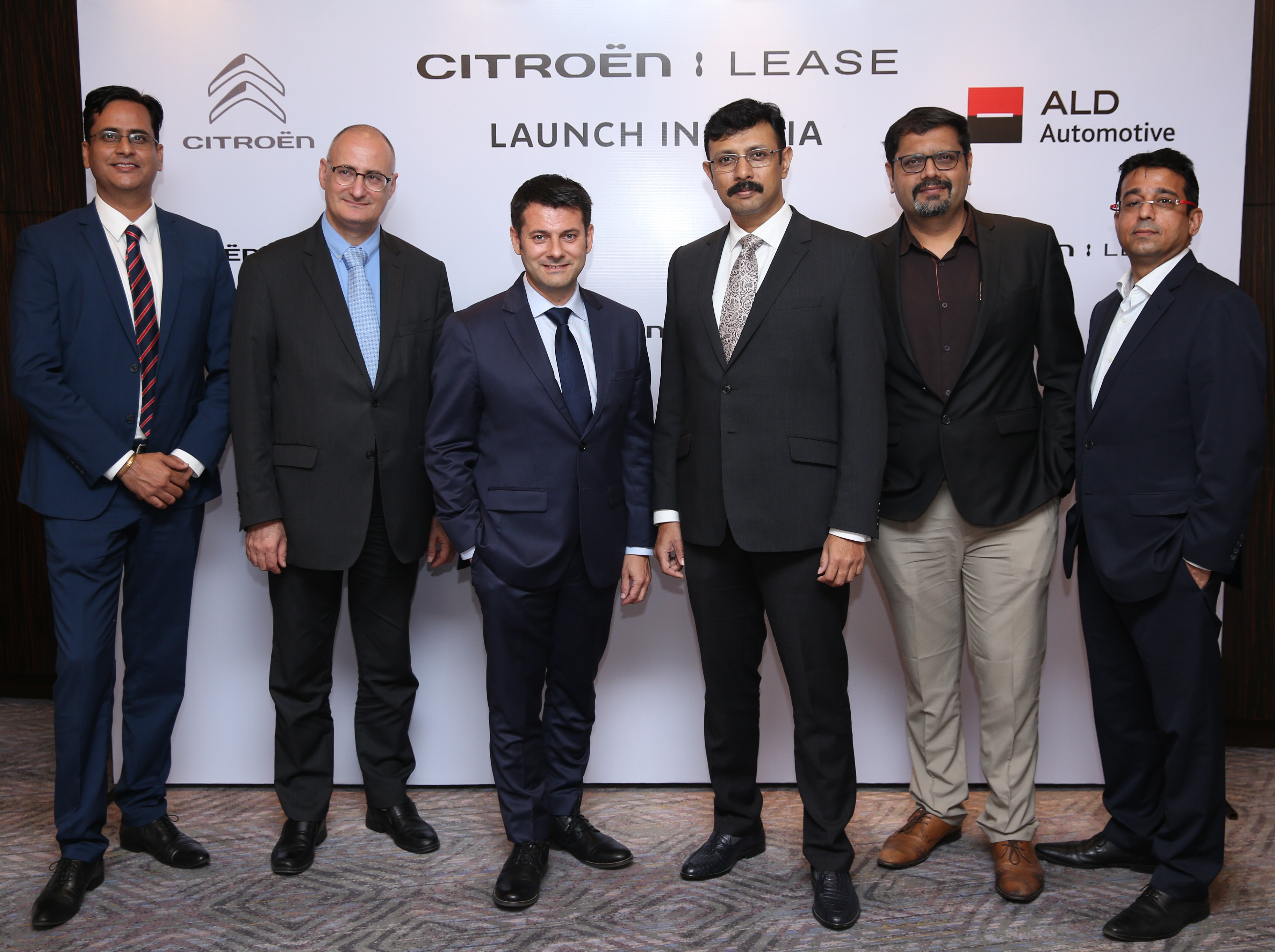 GROUPE PSA LAUNCHES NEW MOBILITY SOLUTIONS IN PARTNERSHIP WITH ALD AUTOMOTIVE IN INDIA TO SUPPORT CITROËN OFFENSIVE