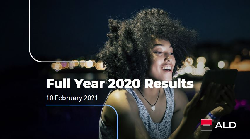 ALD reports full year 2020 results
